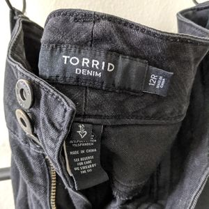 Black Torrid High Rise Jegging